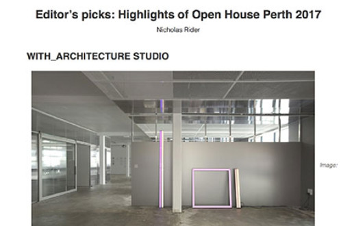 With_ Architecture and Design Editors pick for Open House 2017