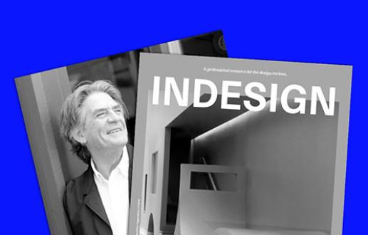 Geoff Warn featured in Indesign Magazine