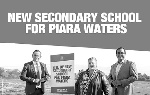 New Secondary School for Piara Waters